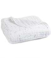 Aden Anais aden + anais Silver Printed White Blanket