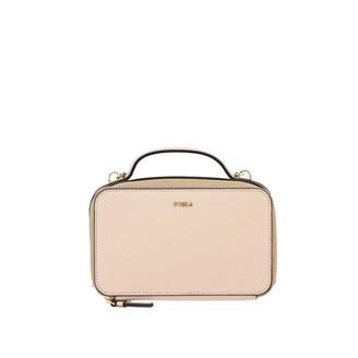 Furla Mini Bag Babylon Shoulder Bag In Saffiano Leather
