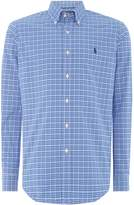 Men's Polo Ralph Lauren Golf Small check long sleeve shirt
