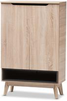 Baxton Studio Fella Modern Multi-Shelf Cabinet