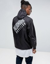 Billionaire Boys Club Overhead Jacket With Back Print