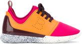 Bally panelled sneakers - women - Leather/Neoprene/rubber - 39