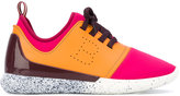 Bally panelled sneakers