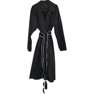 Christopher Raeburn \N Black Cotton Trench Coat for Women