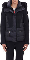 Post Card Women's Fur-Trimmed Alake Hooded Parka-BLACK