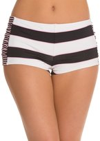 Tommy Bahama Swimwear Rugby Stripe Hot Short Bikini Bottom 8125519
