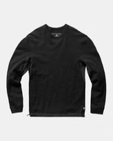 Reigning Champ Hybrid Crewneck (Black | Lightweight Terry Stretch)