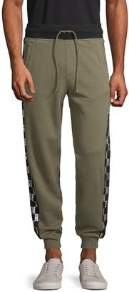 True Religion Logo Tape Cotton Jogger Pants