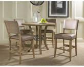 Hillsdale Charleston 5 Piece Round Counter Height Dining Set