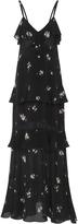 A.L.C. Zaydena Floral-Print Silk Maxi Dress