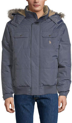 U.S. Polo Assn. Microfiber Midweight Quilted Jacket