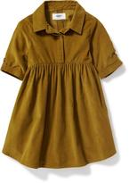 Old Navy Corduroy Shirt Dress for Toddler