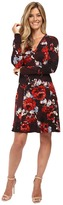 Karen Kane Painted Rose A-Line Dress