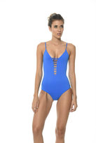 Malai Swimwear 2017 Malai Swimwear - French Blue One Piece OP0051