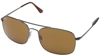Ray-Ban 0RB3611 (Gunmetal) Fashion Sunglasses