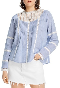Lini Alice Lace-Inset Top - 100% Exclusive