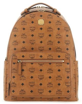 MCM Visetos Stark Zipped Backpack