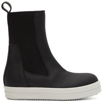 Rick Owens Black Chelsea Sneakers