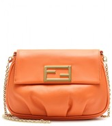 Fendi Fendista Mini Leather Shoulder Bag