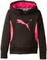 Puma Graphic Hoodie (Kid Black-6X