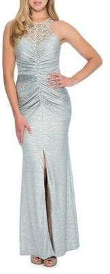 Decode 1.8 Embellished Racerback Bodycon Gown