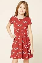Forever 21 Girls Zebra Print Dress (Kids)