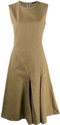 Joseph sleeveless A-line dress
