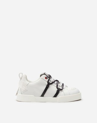 Dolce & Gabbana Portofino Light Sneakers In Rubber Calfskin