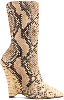 Yeezy Season 8 Wedge Ankle Boot in Roccia Mesa | FWRD