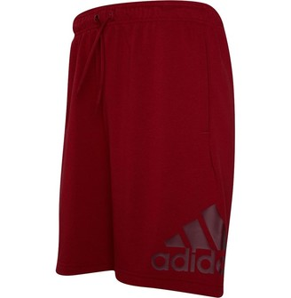 adidas Mens Must Haves Badge Of Sport Sweat Shorts Active Maroon