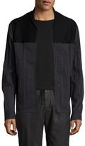 Maison Margiela Ribbed Contrast Jacket
