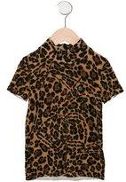 Gucci Girls' Leopard Print Wool Top