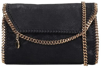 Stella McCartney Falabella Shoulder Bag In Black Faux Leather