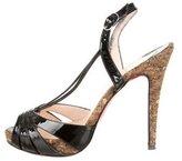 Christian Louboutin Activa Slingback Sandals