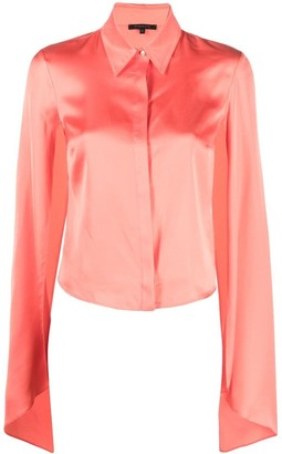 Patrizia Pepe Cape-Sleeve Shirt