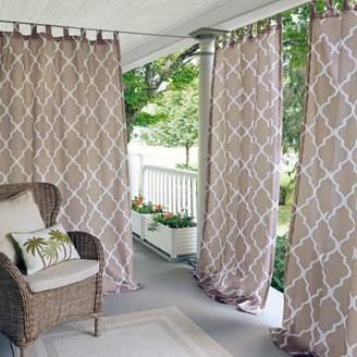 "Corado Geometric Indoor/Outdoor Curtain Panel, 50"" x 84"""