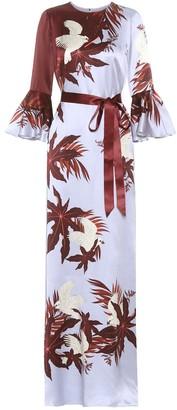 Erdem Linzea printed silk dress