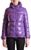 Aspesi Women's Purple Polyamide Down Jacket.