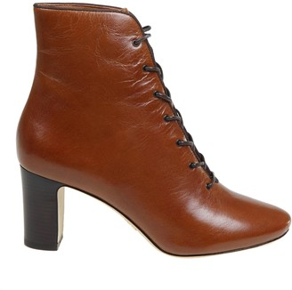 Tory Burch Vienna Ankle Boots In Leather Color