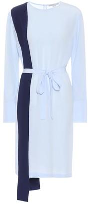 Stella McCartney Asymmetric silk dress