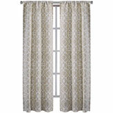 Asstd National Brand Richloom Labyrinth 2-Pack Rod-Pocket Curtain Panels
