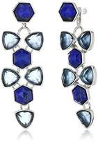 Vera Bradley Geo Facets Convertible Drop Earrings