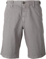 Eleventy shorts with button closure flap pockets - men - Cotton/Linen/Flax/Spandex/Elastane - 31