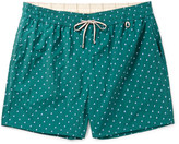 Loro Piana Slim-Fit Mid-Length Printed Swim Shorts