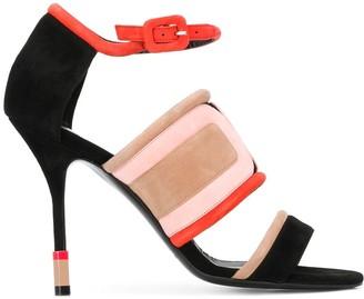 Pierre Hardy Targa colour-block sandals