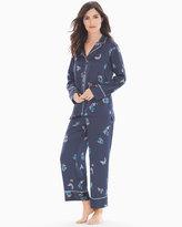 Soma Intimates Papillon Satin Pajama Set