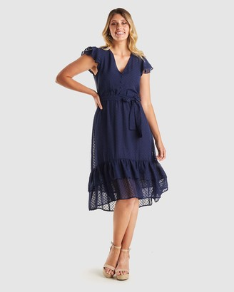 Stella Women's Midi Dresses - Glimmer Dress - Size One Size, 10 at The Iconic