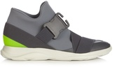 Christopher Kane Safety Buckle High-top Trainers