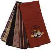 "Bed Bath & Beyond ""Happy Thanksgiving"" Kitchen Towels (Set of 5)"