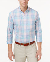 Club Room Men's Plaid Button-Down Shirt, Only at Macy's